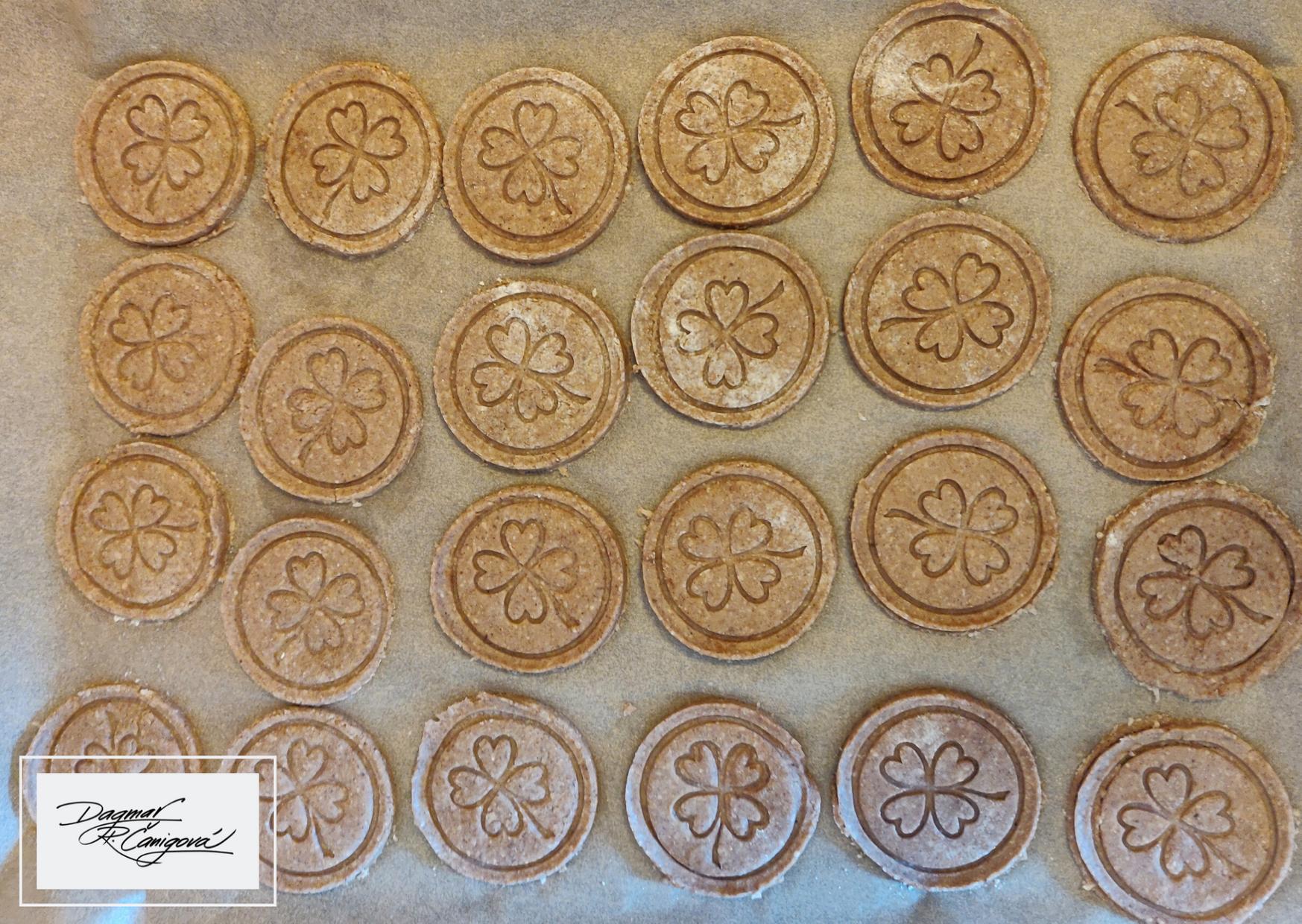 Škoricové sušienky pred upečením